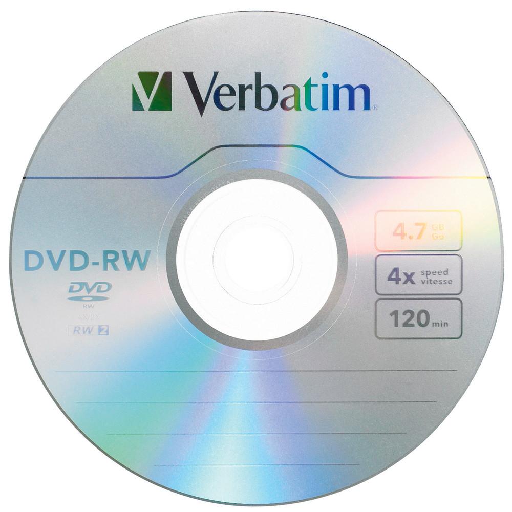Verbatim DVD-RW 4.7 GB ~ Tutto...